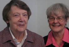 Arlene Kelly and Helene Pollock